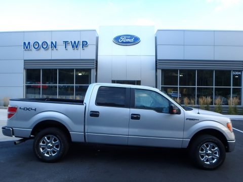Ingot Silver Ford F150 XLT SuperCrew 4x4.  Click to enlarge.