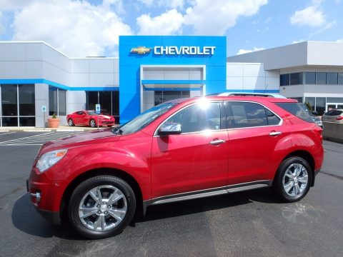 Crystal Red Tintcoat Chevrolet Equinox LTZ AWD.  Click to enlarge.