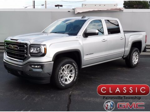 Quicksilver Metallic GMC Sierra 1500 SLE Crew Cab 4WD.  Click to enlarge.