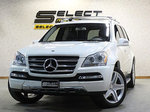 Arctic White Mercedes-Benz GL 550 4Matic.  Click to enlarge.