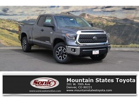 Magnetic Gray Metallic Toyota Tundra SR5 Double Cab 4x4.  Click to enlarge.