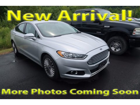 Ingot Silver Metallic Ford Fusion Titanium AWD.  Click to enlarge.