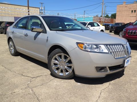 Sterling Gray Metallic Lincoln MKZ FWD.  Click to enlarge.