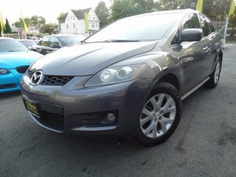Liquid Platinum Metallic Mazda CX-7 Grand Touring.  Click to enlarge.