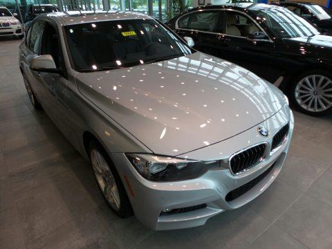 Glacier Silver Metallic BMW 3 Series 330i xDrive Sedan.  Click to enlarge.