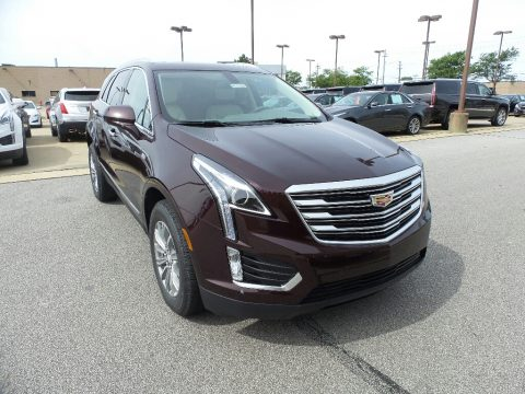 Deep Amethyst Metallic Cadillac XT5 Luxury AWD.  Click to enlarge.