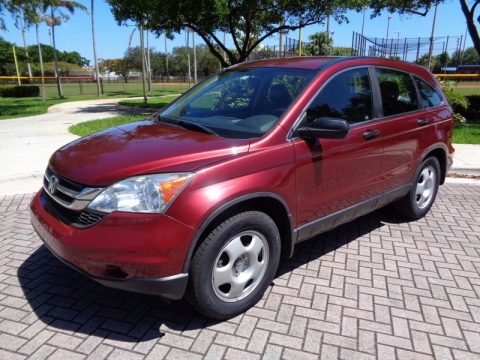 Tango Red Pearl Honda CR-V LX AWD.  Click to enlarge.
