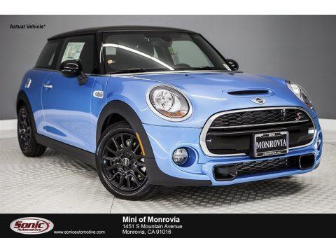 Electric Blue Metallic Mini Hardtop Cooper S 2 Door.  Click to enlarge.