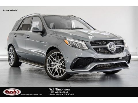 Selenite Grey Metallic Mercedes-Benz GLE 63 AMG.  Click to enlarge.
