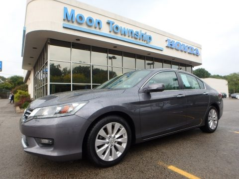 Modern Steel Metallic Honda Accord EX Sedan.  Click to enlarge.