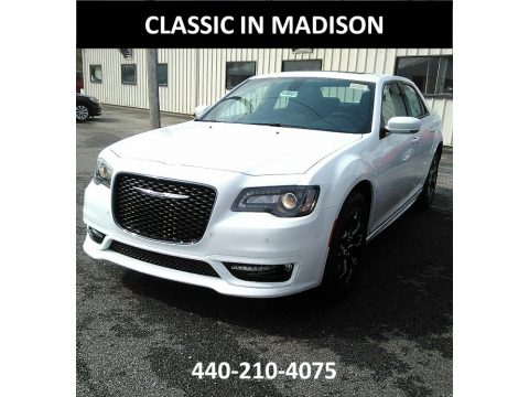 Bright White Chrysler 300 S AWD.  Click to enlarge.