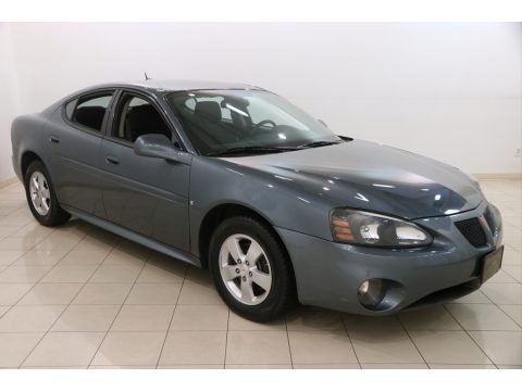 Stealth Gray Metallic Pontiac Grand Prix Sedan.  Click to enlarge.