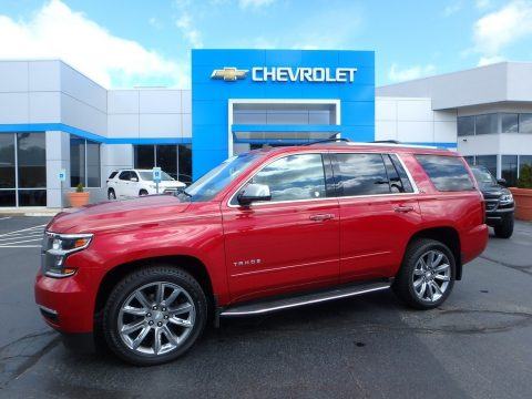 Crystal Red Tintcoat Chevrolet Tahoe LTZ 4WD.  Click to enlarge.