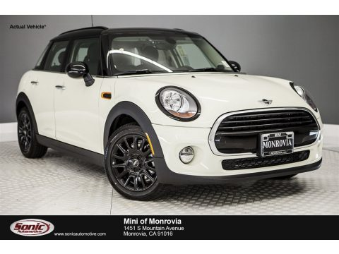 Pepper White Mini Hardtop Cooper 4 Door.  Click to enlarge.