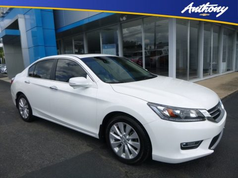 White Orchid Pearl Honda Accord EX Sedan.  Click to enlarge.
