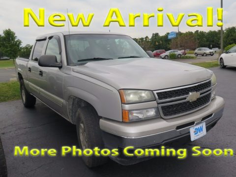 Silver Birch Metallic Chevrolet Silverado 1500 LT Crew Cab 4x4.  Click to enlarge.