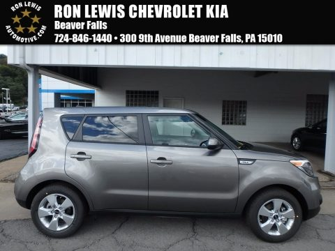Titanium Gray Kia Soul .  Click to enlarge.