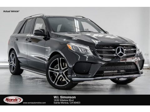 Obsidian Black Metallic Mercedes-Benz GLE 43 AMG 4Matic.  Click to enlarge.