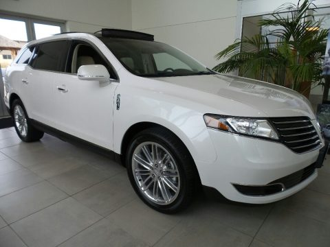 White Platinum Lincoln MKT AWD.  Click to enlarge.