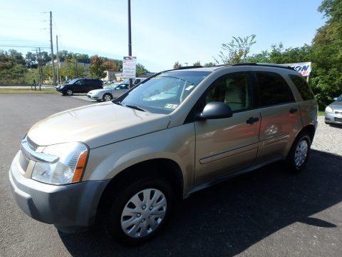 Sandstone Metallic Chevrolet Equinox LS.  Click to enlarge.