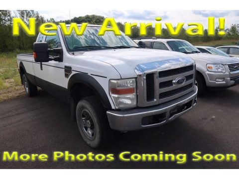 Oxford White Ford F250 Super Duty XLT SuperCab 4x4.  Click to enlarge.