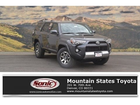 Magnetic Gray Metallic Toyota 4Runner TRD Off-Road 4x4.  Click to enlarge.