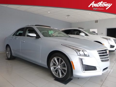 Radiant Silver Metallic Cadillac CTS Luxury AWD.  Click to enlarge.
