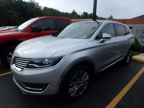Ingot Silver Lincoln MKX Reserve AWD.  Click to enlarge.