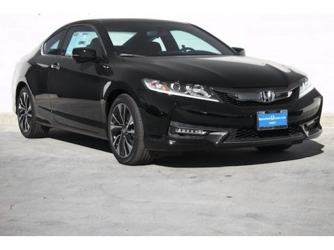 Crystal Black Pearl Honda Accord EX Coupe.  Click to enlarge.