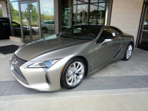 Atomic Silver Lexus LC 500.  Click to enlarge.