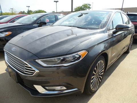 Magnetic Ford Fusion Hybrid Titanium.  Click to enlarge.