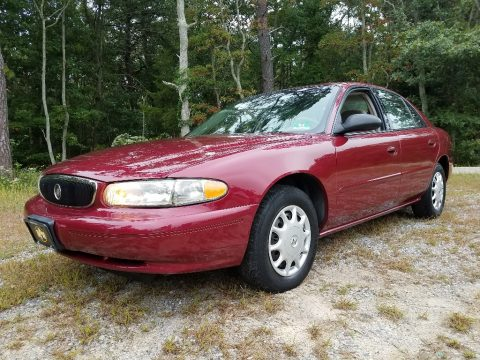 Cardinal Red Metallic Buick Century Custom.  Click to enlarge.