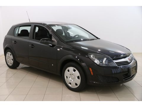 Black Sapphire Saturn Astra XE Sedan.  Click to enlarge.