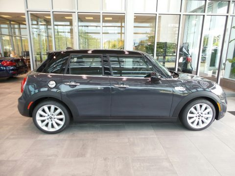 Thunder Grey Metallic Mini Hardtop Cooper S 4 Door.  Click to enlarge.