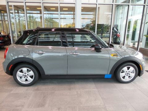 Moonwalk Grey Metallic Mini Hardtop Cooper 4 Door.  Click to enlarge.