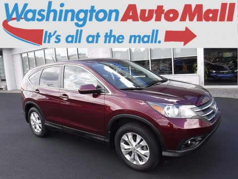 Basque Red Pearl II Honda CR-V EX AWD.  Click to enlarge.