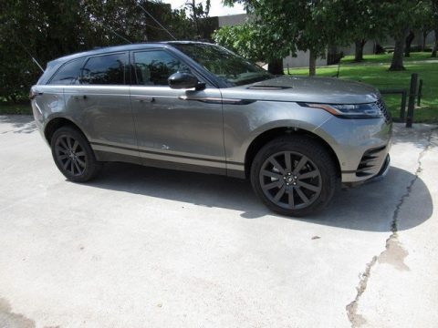 Silicon Silver Metallic Land Rover Range Rover Velar R Dynamic SE.  Click to enlarge.