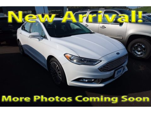 Oxford White Ford Fusion SE.  Click to enlarge.