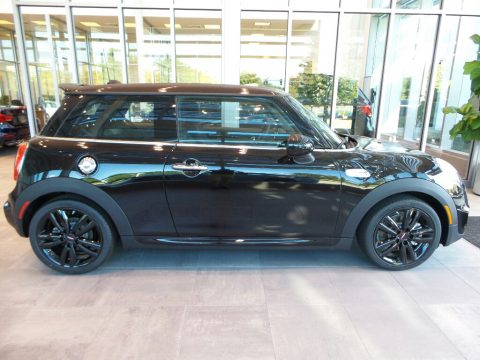 Midnight Black Metallic Mini Hardtop Cooper S 2 Door.  Click to enlarge.