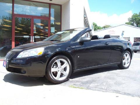 used 2007 pontiac g6 gt convertible for sale stock 10331 dealer car ad. Black Bedroom Furniture Sets. Home Design Ideas