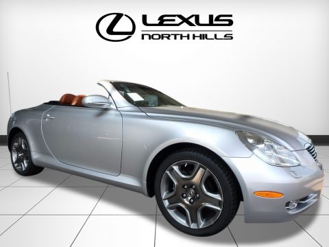 Mercury Metallic Lexus SC 430 Convertible.  Click to enlarge.