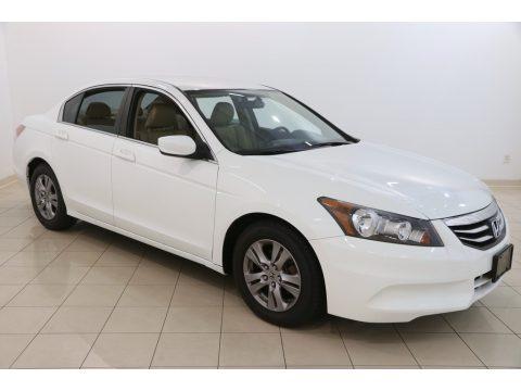 Taffeta White Honda Accord SE Sedan.  Click to enlarge.