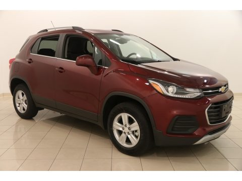 Crimson Metallic Chevrolet Trax LT AWD.  Click to enlarge.