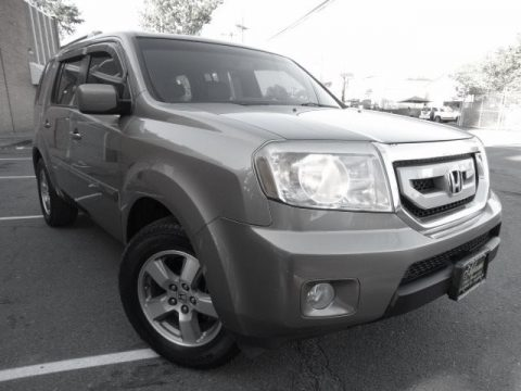 Mocha Metallic Honda Pilot EX-L 4WD.  Click to enlarge.
