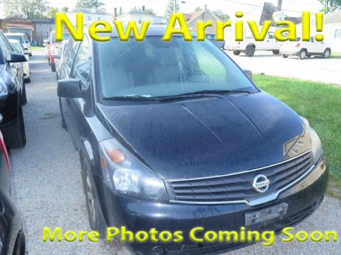 Galaxy Black Metallic Nissan Quest 3.5 S.  Click to enlarge.