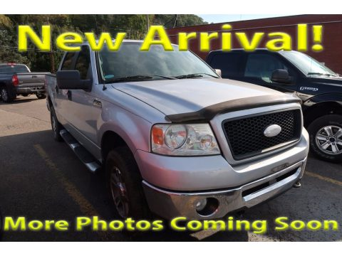 Silver Metallic Ford F150 XLT SuperCrew 4x4.  Click to enlarge.
