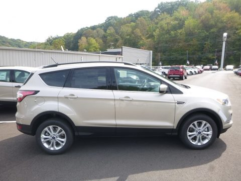 White Gold Ford Escape SE 4WD.  Click to enlarge.