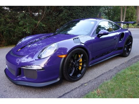 Ultraviolet Porsche 911 GT3 RS.  Click to enlarge.