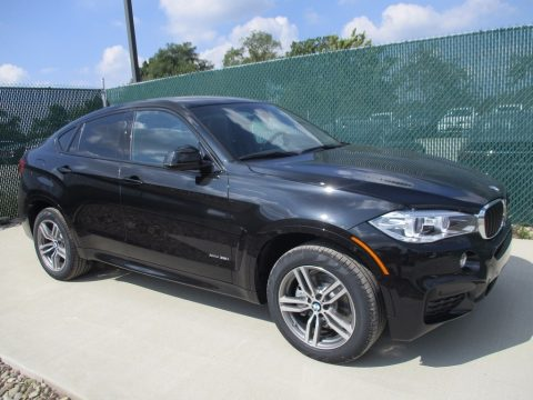 Black Sapphire Metallic BMW X6 xDrive35i.  Click to enlarge.