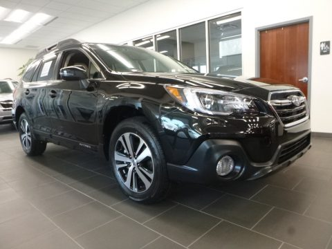Crystal Black Silica Subaru Outback 3.6R Limited.  Click to enlarge.